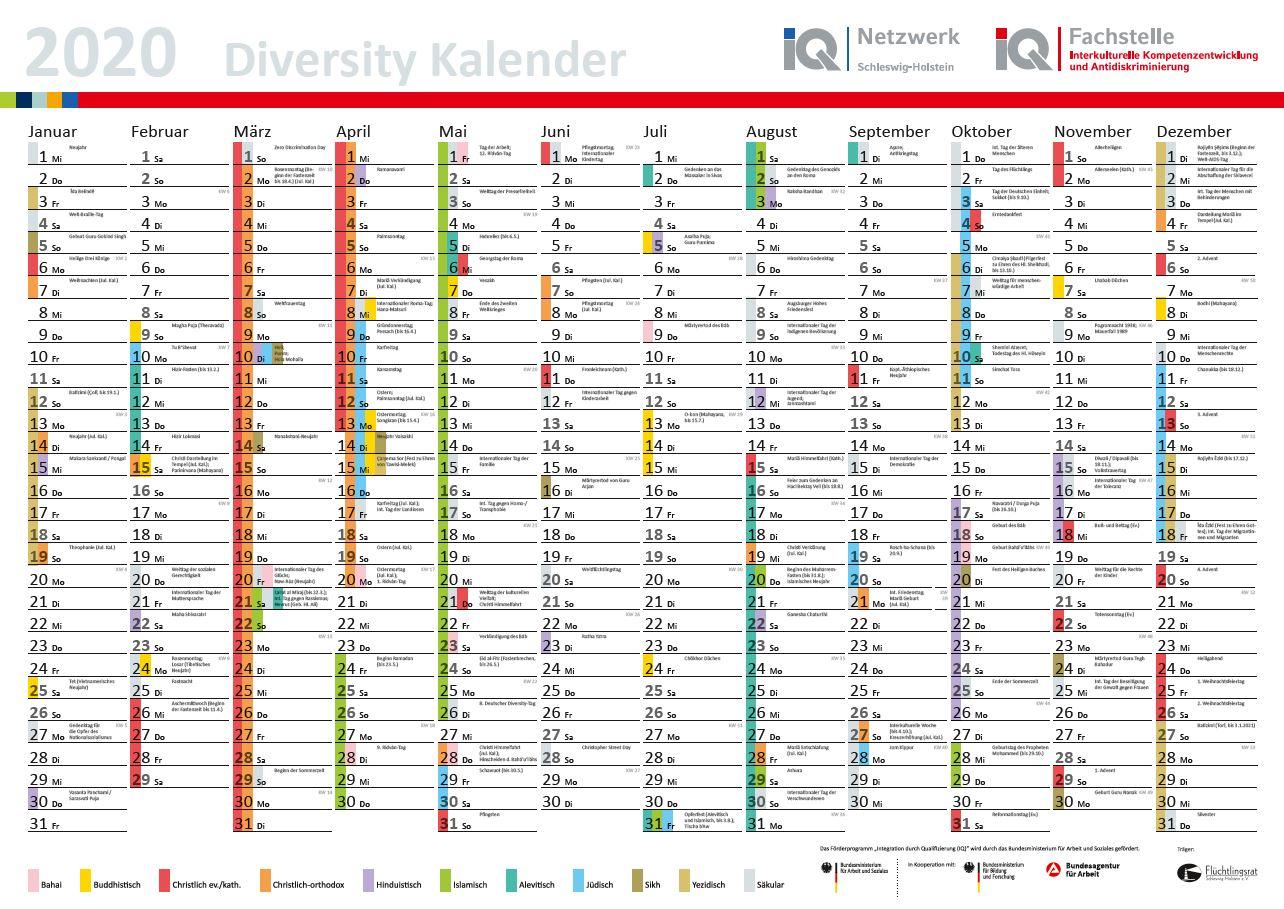 interkultureller kalender 2020